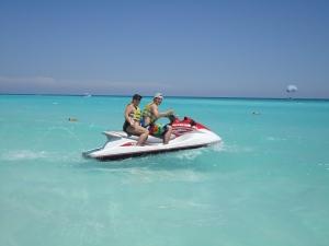 Alex and I in Cancun
