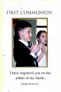 Alex`s First Communion