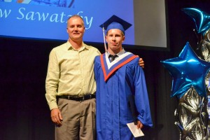 Alex Fraser Memorial Bursary awarded to Braden Saretsky